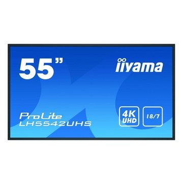 "IIyama LH5542UHS-B3 54.6"" IPS 4K Ultra HD Nero"