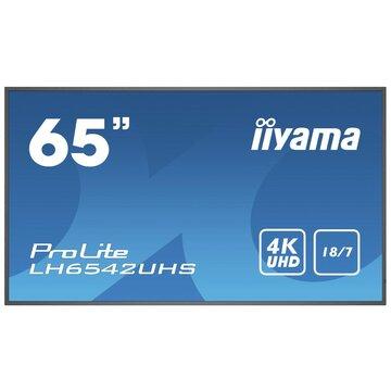 "IIyama LH6542UHS-B3 64.5"" IPS 4K Ultra HD Nero"