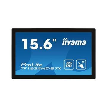 "IIyama ProLite TF1634MC-B7X Touch 15.6"" FullHD Nero"