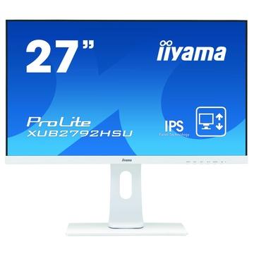 "IIyama ProLite XUB2792HSU-W1 27"" Full HD 4ms LED Bianco"