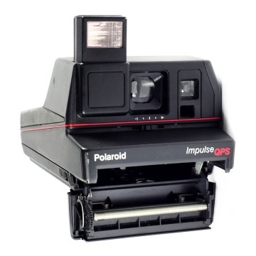 Polaroid Serie 600 Impulse con 2 pellicole