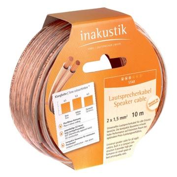 In - Akustik Inakustik 003021020 cavo audio 20 m Trasparente