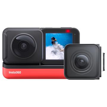 Insta360 ONE R Twin Edition con ottica 360° e ottica Wide Angle 4k
