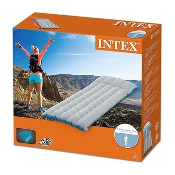 Intex Materasso Camping Laminato Cm 184X67X17