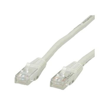 ITB 10m, RJ45-RJ45, Cat.5e 10m Cat5e U/UTP (UTP) Grigio cavo di rete