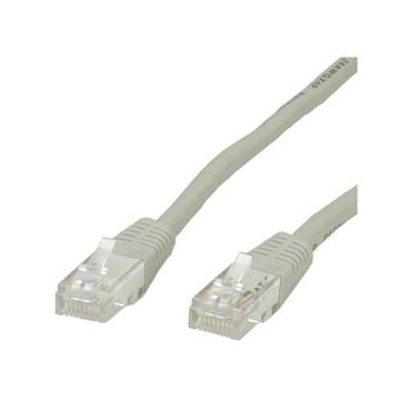 ITB 5m, RJ45 - RJ45, Cat.6 5m Cat6 U/UTP (UTP) Grigio cavo di rete