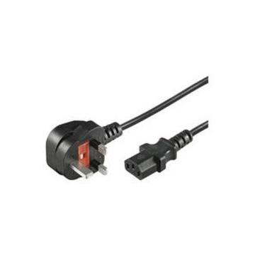 ITB Microconnect PE090420 cavo di alimentazione Nero 2 m BS 1363 Accoppiatore C13