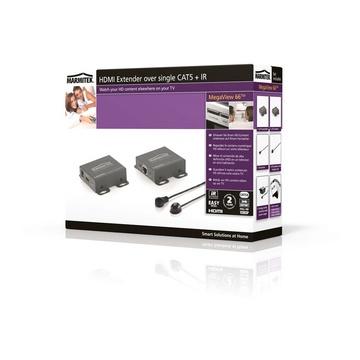 ITB MK08273 Trasmettitore e ricevitore AV Nero