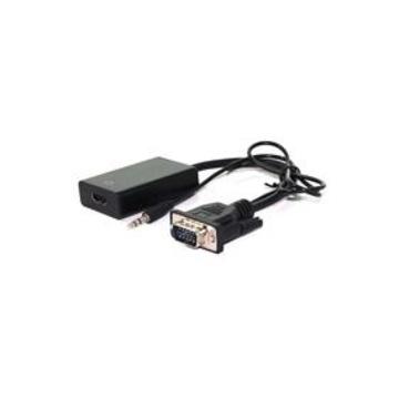ITB Value 12.99.3117 cavo di interfaccia e adattatore VGA/3.5mm HDMI Nero