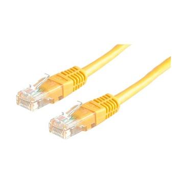 ITB Value 21.99.1562 cavo di rete 5 m Cat6 U/UTP (UTP) Giallo