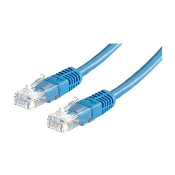 ITB Value UTP, Cat6, 0.5m cavo di rete 0,5 m U/UTP (UTP) Blu