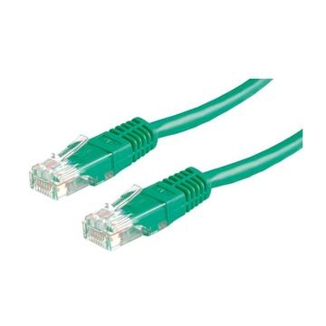 ITB Value UTP Patch Cord Cat.6, green 2 m cavo di rete Verde