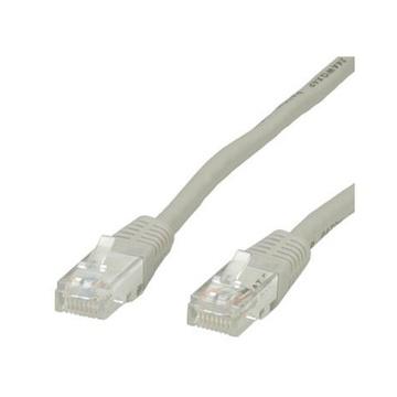 ITB Value UTP Patch Cord, Cat.6, grey 3 m cavo di rete Grigio