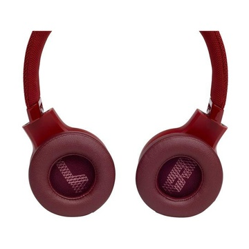 JBL Live 400BT Stereofonico Cuffie Rosso