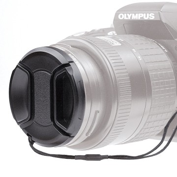 Kaiser Fototechnik lens cap snap-on 43