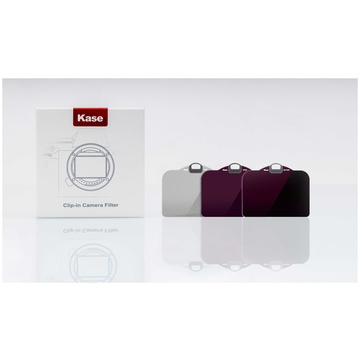 Kase Filtro CLIP IN Set 3 IN 1 (ND8/ND64/ND1000) Per NIKON Z7/Z6