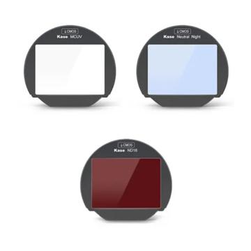 Kase Set Filtri Clip 3-in-1 MCUV/ND16/Neutral Night per Fuji X