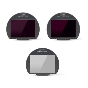 Kase Set Filtri Clip 3-in-1 ND8/ND64/ND1000 per Canon R5/R6