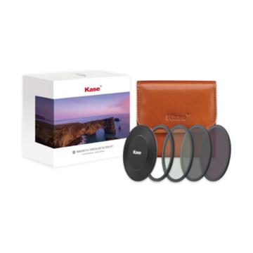 Kase Wolverine Filtri Magnetici Entry Level ND Kit CPL, ND8, ND64 - 72mm