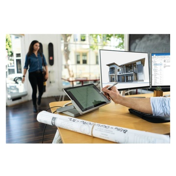 KENSINGTON SD7000 Docking station per dispositivo mobile Tablet Argento