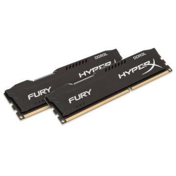 Kingston HyperX FURY Memory Low Voltage - 16GB Kit (2x8GB) - DDR3L 1600MHz