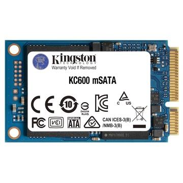 Kingston KC600 mSATA 256 GB SATA III 3D TLC