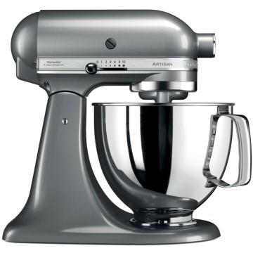 Kitchenaid Robot da cucina Artisan Argento Placcato + Estrattore di succo per Artisan
