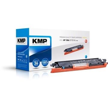 KMP H-T186 Ciano analogo HP CF 351 A