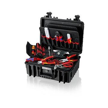 Knipex 00 21 35 Set strumenti + cassetta Polistirolo Nero