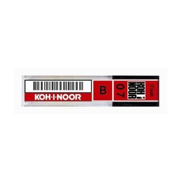 Koh-I-Noor MICROMINE 0.7mm, 12 Pack mina B