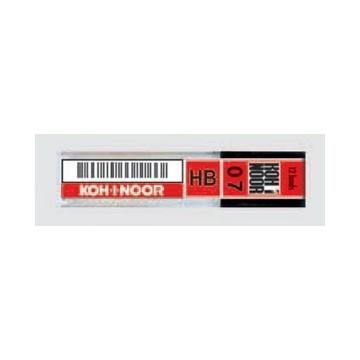 Koh-I-Noor MICROMINE 0.7mm, 12 Pack mina HB