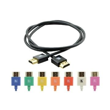 Kramer 0.9m HDMI m/m cavo HDMI 0,9 m HDMI tipo A (Standard) Giallo