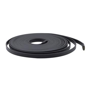 Kramer C-HM/HM/FLAT/ETH-3 cavo HDMI 0,9 m HDMI tipo A (Standard) Nero