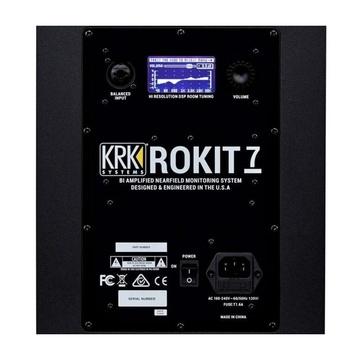 KRK Rokit RP7 G4 2-vie Cablato 145 W Nero