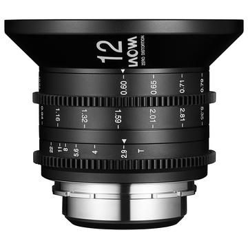 Laowa 12mm t/2.9 Zero-D Cine Scala Feet Canon