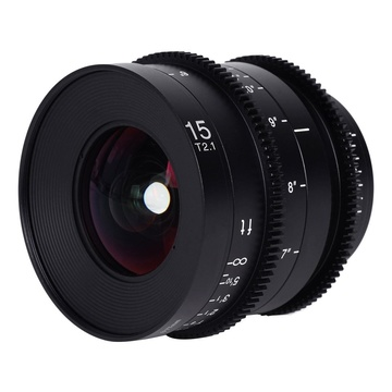 Laowa 15mm t/2.1 Zero-D Sony E-Mount Cine Scala Metri