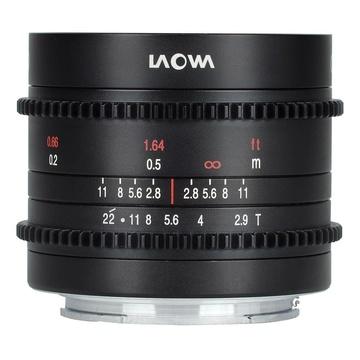 Laowa 9mm t/2.9 Zero-D Canon RF Cine Scala Metri/Feet