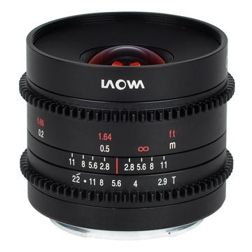 Laowa 9mm t/2.9 Zero-D Sony E-Mount Cine