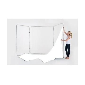Lastolite Telo per fondale panoramico in tessuto da 4m Bianco