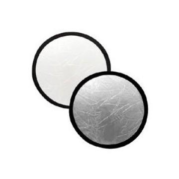 Lastolite Pannelli riflettenti circolari 50 cm Bianco - Argento