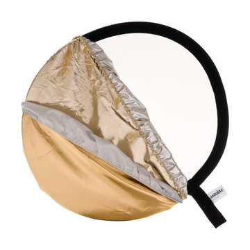 """Lastolite Riflettore pieghevole 30"""" 5 colori in 1 Kit - Sunfire, argento, oro, bianco e diffusore"""