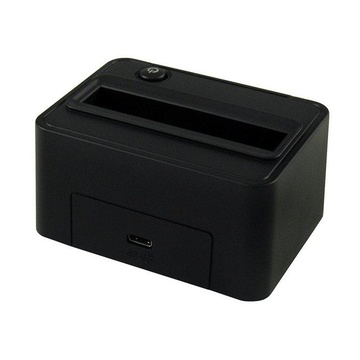 LC Power LC-Power LC-DOCK-25-C docking station per unità di archiviazione USB 3.1 (3.1 Gen 2) Type-C Nero