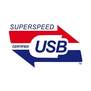 LC Power USB Hub USB 3.2 Gen 1 Type-A 5000 Mbit/s Nero