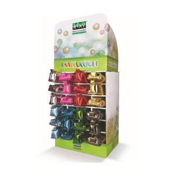 Lebez Confezione da 24 Saccuccioli 2 Modelli 8 Colori