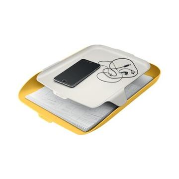 LEITZ 52590019 vassoio da scrivania Polistirene (PS) Giallo