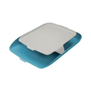 LEITZ 52590061 vassoio da scrivania Polistirene (PS) Blu