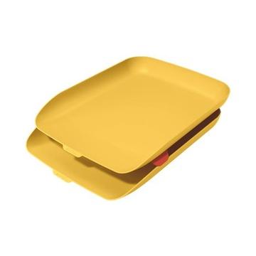 LEITZ 53581019 vassoio da scrivania Polistirene (PS) Giallo