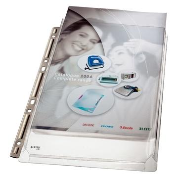 LEITZ Busta Premium espandibile con banda a perforazione in metallo