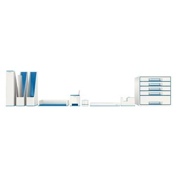 LEITZ WOW Polistirolo Blu, Metallico
