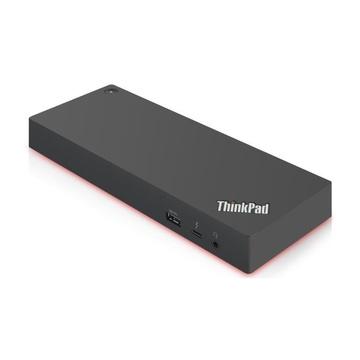 Lenovo 40AN0135EU replicatore di porte e docking station per notebook Cablato Thunderbolt 3 Nero, Rosso
